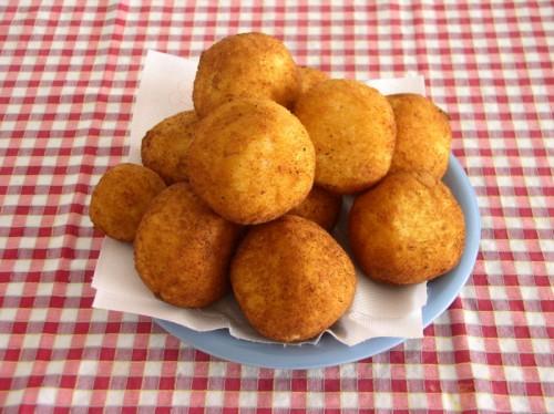 Arancini di riso: gourmet street food
