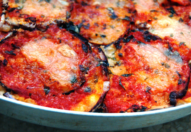 The queen Parmigiana: the original Aubergine based recipe