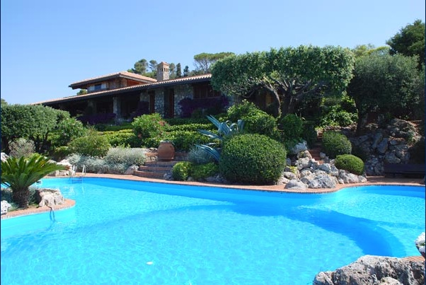 Villa L'Acacia in Ansedonia, Luxury Villa in Tuscany