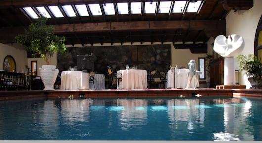 Hotel Relais Chateaux in Toscana Il Bottaccio: foto sala ristorante